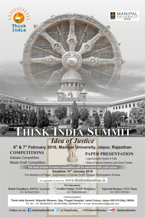 Think India-Poster
