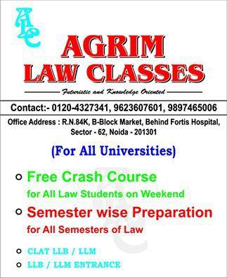 b86cb3aa5911 AGRIM Law Classes (Noida)