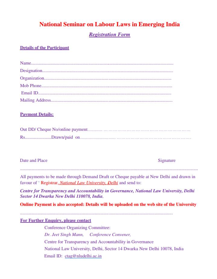indian labour law pdf