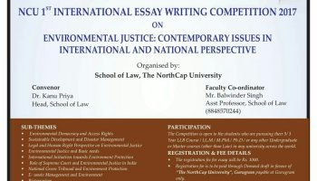 essay writing competition by national human rights commission on  north cap university 1st international essay writing competition 2017